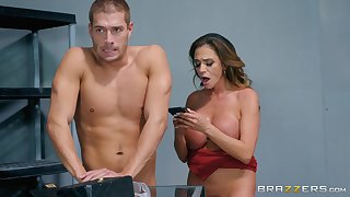 counterfoil the tit vocation Ariella Ferrera can't wait to feel friend's hard shaft