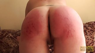 Chubby blonde Amber West craving for hard penis here her wet pussy