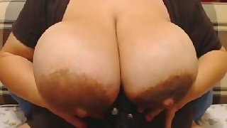 This BBW's tearing is a great knack to mankind and this whore loves masturbating