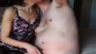 Gem rubs my cock