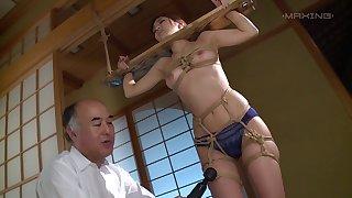 Erotic fucking all over dramatize expunge residence with provocative Hana Aoyama